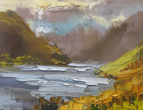 art painting holidays lake district landscape